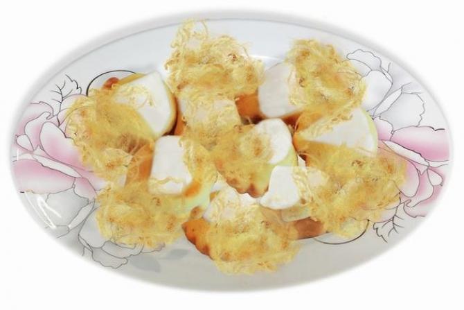 Bánh Bông lan Phô Mai Chà Bông
